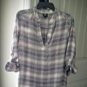 Reduced Bobeau plaid shirt - New
